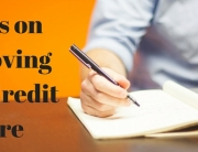 improving your credit score banner