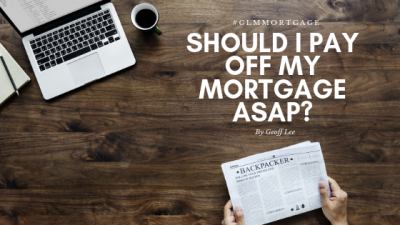 Should I pay off my mortgage