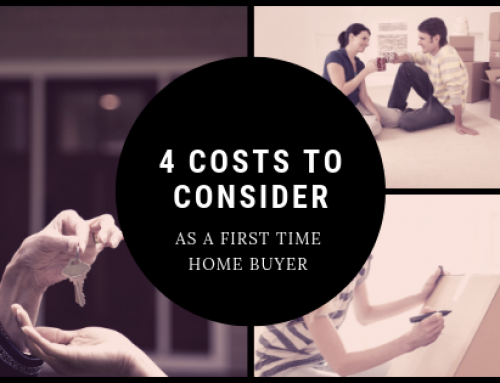 4 Costs to Consider as a First Time Home Buyer