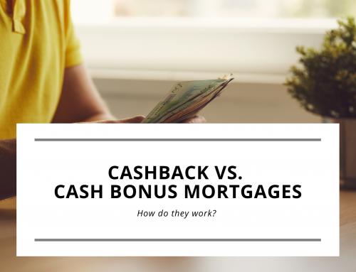 Cashback vs. Cash Bonus Mortgages