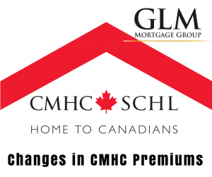Changes in CMHC Premiums