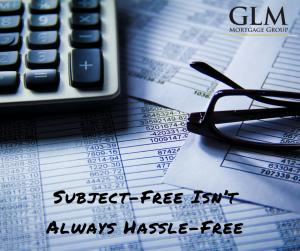 Subject-Free Isn't Always Hassle-Free