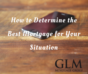 How to Determine the Best Mortgage for Your Situation