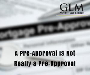 Not Really a Pre-Approval