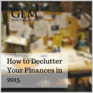 How to Declutter Your Finances in 2015