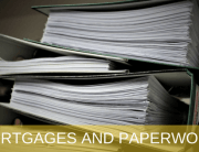 PAPERWORK FOR MORTGAGES